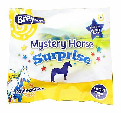 Breyer Stablemate Myster Y Horse Surprise  Blind Bag Lot Of 3 New In Package
