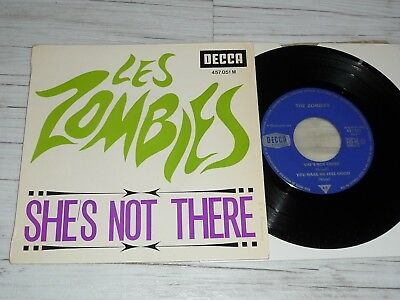 EP Zombies   She`s not there    (Frankreich / Decca )
