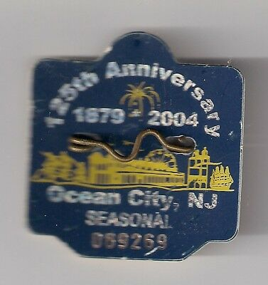 Ocean City New Jersey Seasonal Beach Tags 2004 2016 2017 And 2018