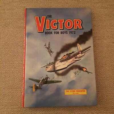 Vintage Victor Book for Boys 1972 Annual
