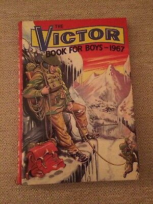 Vintage Victor Book for Boys 1967 Annual
