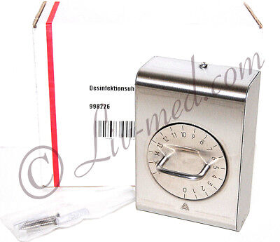 NEU - chirurgische - Desinfektionsuhr - surgical - disinfection clock - new