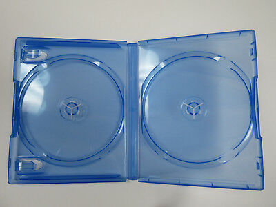 NEW! 2 Official Genuine Sony DuBois PS4 DOUBLE Disc Replacement Game Cases OEM