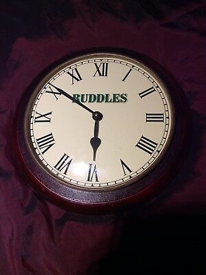 Ruddles County Clock By Quarmby In VGC.