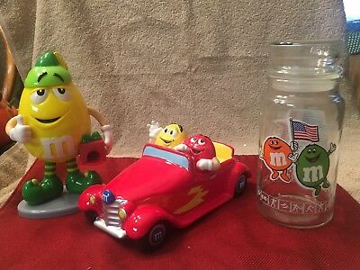 M&M's Lot Of 3 Items