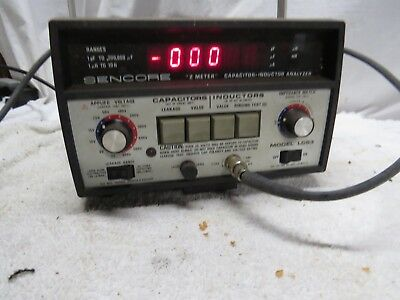 Sencore LC53 Z Meter Capacitor-Inductor Analyzer FAST SHIPPING!
