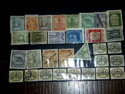 old  stamps  Vatican + FIUME  FIVME USED +MH