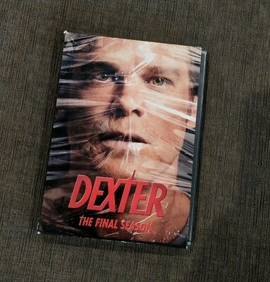 Dexter: The Final Season (Blu-ray Disc, 2013, 3-Disc Set). Used once.
