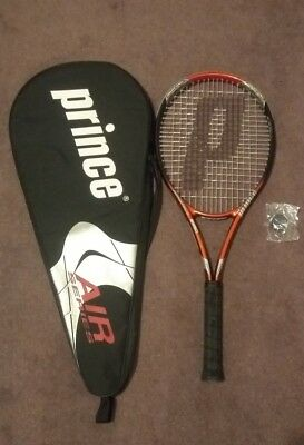 Prince Airstick Tennis Racquet  B950~Triple Threat Tungsten~Prince Carry Bag