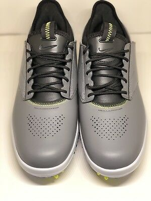 61f3758f2d5 NIKE AIR ZOOM Direct Mens Golf Shoes Grey Black 923965 002 Spikes ...