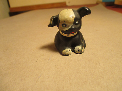 Vintage Cast Iron  Bucky Dog Paperweight