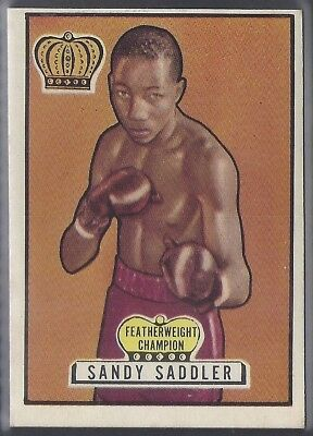Topps-Ringside 1951-#29- Boxing - Sandy Saddler