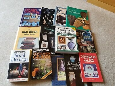 Lot Of 11 Books Misc. Collector's Price Guides See Listing