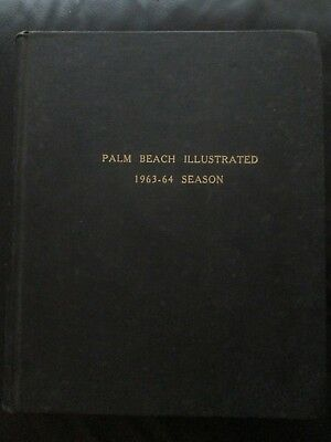 Rare Vintage Bound Volume of Palm Beach Illustrated 1963 - 1964 20 Issues