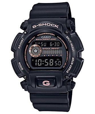 Casio G-Shock Mens Wrist Watch DW-9052GBX-1A4DR Black 53mm Digital Quartz New