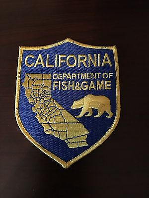California Department Of Fish And Game Shoulder Patch