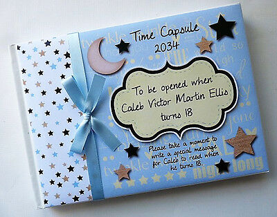 Twinkle  Twinkle Time Capsule Personalised Guest Book - Any Design