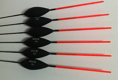Hand made pole floats, Designed for deeper water fishing Super Pole Floats 0.5g