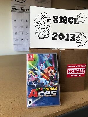 Mario Tennis Aces - Nintendo Switch Video Game Brand New!! Factory Sealed!!