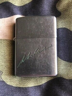 Vintage Zippo Lighter 1937-1950 PAT 2032695 Made in the U.S.A.