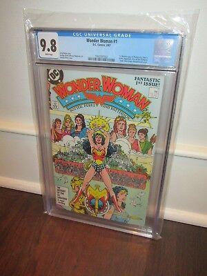 Wonder Woman #1, CGC 9.8/NM to Mint Key Issue
