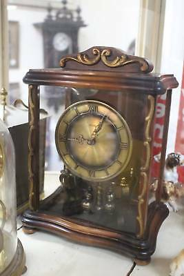 A Vintage 400 Day Clock by Kundo  - No Winding or Battery! Like Magic!!!