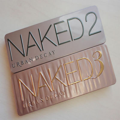 NAKED 2 / 3 Urban Decay 12 Color Palette Eyeshadow Eye Shadow Makeup  New