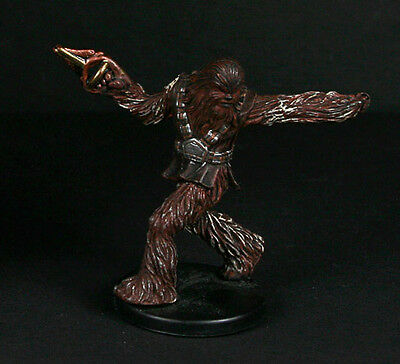 Star Wars miniatures minis Revenge of the Sith Wookie Scout #23 & card WOTC