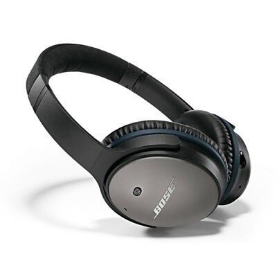 Bose QC25 Noise Cancelling Headphones Black - For Apple