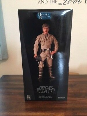 SIDESHOW Collectibles Star Wars EXCLUSIVE Luke Skywalker Bespin NEW