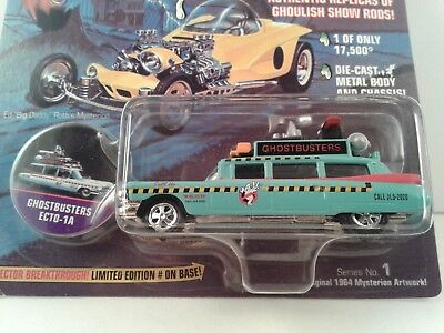 Ghostbusters Ecto 1A Frightning Lightning made by Johnny Lightning