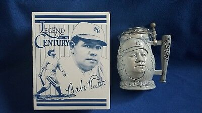 Babe Ruth Yankees Legends of the Century Stein