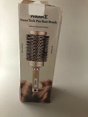 Aimike Round Brush Nano Thermal Ceramic & Ionic Tech Hair Brush