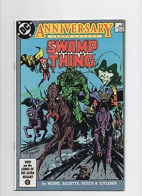 Swamp Thing # 50 1St Justice League Dark 7.5 Not Cgc !!