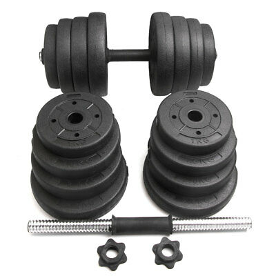 Adjustable Dumbbell Sets 20/30KG Home Gym Bicep Workout Weight Training Fitness