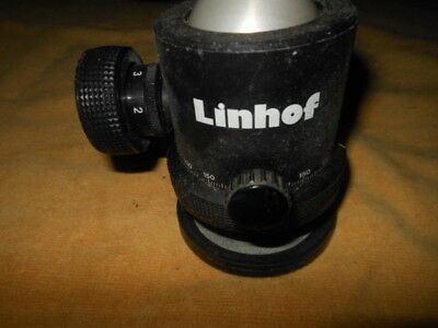 LINHOF  BALL HEAD with Quick  Mount and Disc