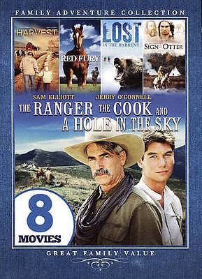 Family Adventure Collection 8-Movie DVD The Ranger The Cook/Harvest/Red Fury