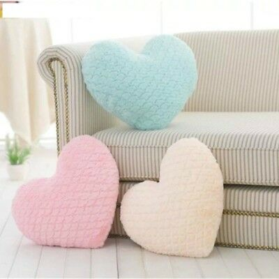 Pillow Cushion Heart Shaped Umbrella Carved Stuffed Plush Valentines Gift Pillow