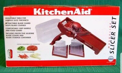 Kitchenaid Mandoline Slicer Red Julienne Thick Or Thin Make An Offer