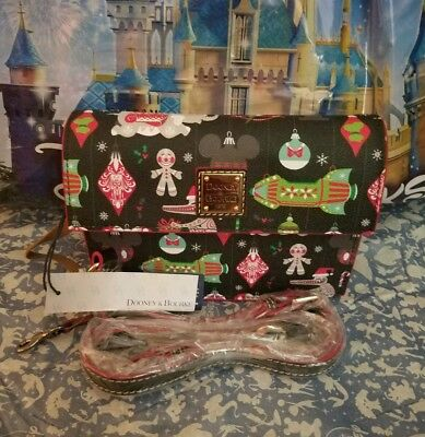 2018 Holiday Disney Parks Dooney & Bourke Purse Bag Crossbody Satchel New w Tags