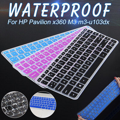 """13.3"""" Laptop Keyboard Cover Skin Protector For HP Pavilion x360 M3 m3-u103dx"""