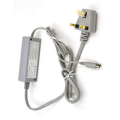 AC Power Supply Cable Wall Charger Adapter for Nintendo Wii U Gamepad Amazing