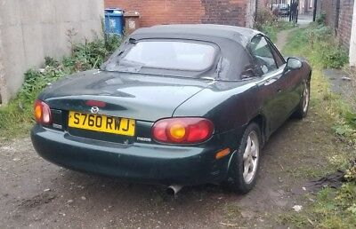 Mazda mx5 1.8is breaking spares parts bidding for a wheel nut 18j grace green