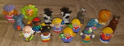Lot Figurines Little People Fisher Price