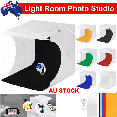 Light Room USB Photo Studio Photography LED Lighting Tent Backdrop Cube Box