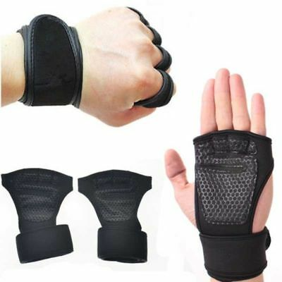 Unisex Fitness Gloves Weight Lifting Gym Sport Workout Training Wrist Wrap Gift