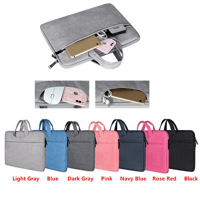 """Laptop Sleeve Hand Bag Cover Case Pouch For Dell MacBook Air/Pro 11.6 13.3 15.6"""""""
