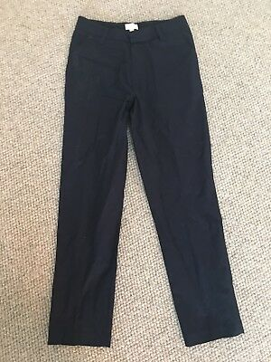 WITCHERY Boys Cotton Dressy Pants Navy  Size 12 New W/o Tags Just Crushed