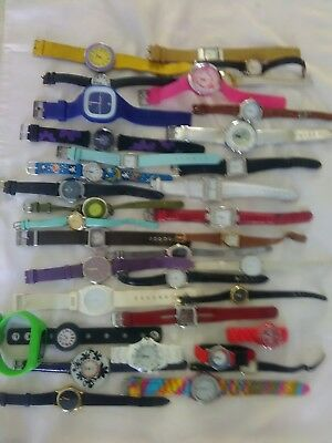 Joblot of 35 ladies watches all working with new batteries a good selection