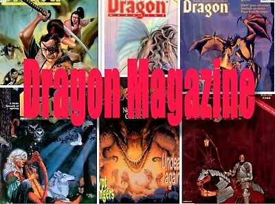 Dragon Magazine 441 Issues PDF 2 DVDs plus annuals Best of  - Dungeons Dragons